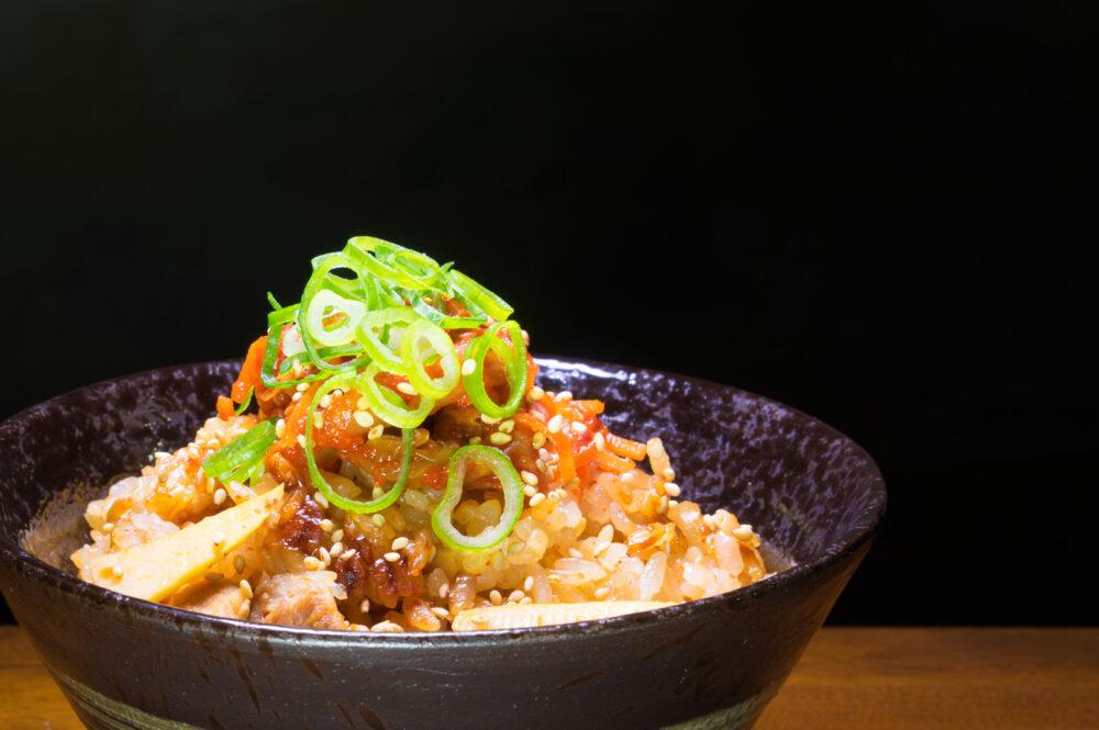 【旬菜豚キムご飯】白菜